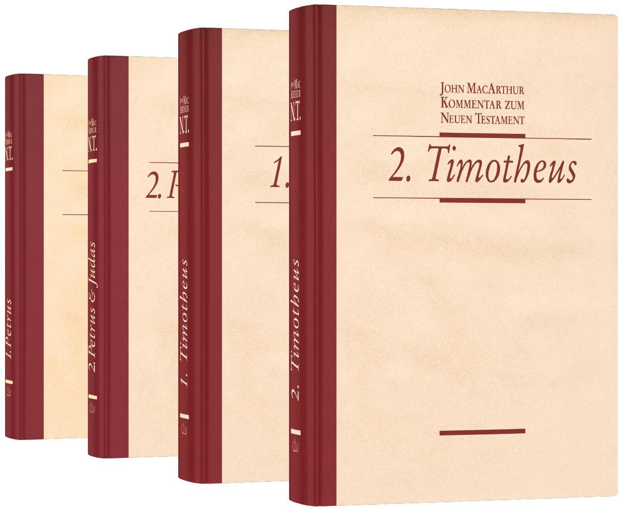Buchpaket »MacArthur-Kommentare« (4 Bände)